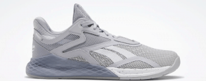 Reebok Nano X - Women's CrossFit Training Shoe in Cold Grey 2/Cool Shadow/White