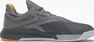 Reebok Nano X Mens Pure Grey 5 Pure Grey 3 Pure Grey 7 right side