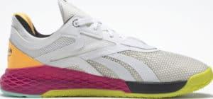 Reebok Nano X Womens Training Shoes Ftwr White Core Black Solar Gold right side