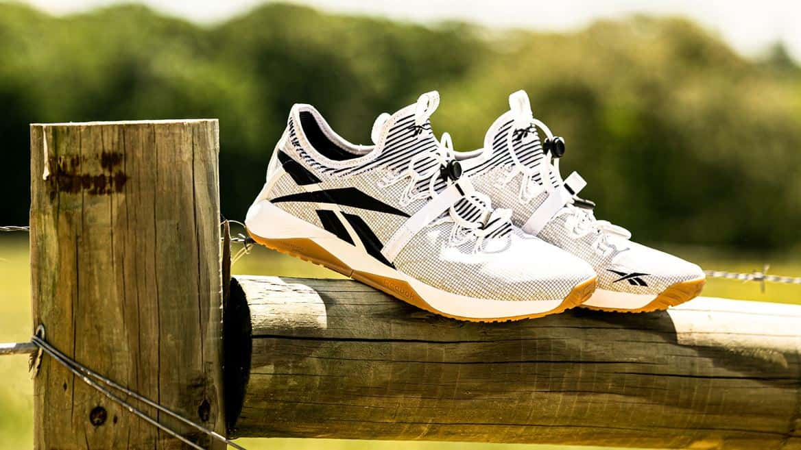 Reebok Nano X1 Froning Training Shoe pair quarter