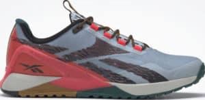 Reebok Nanox1 Adventure Mens Shoes Gable Grey Core Black Cherry side view right
