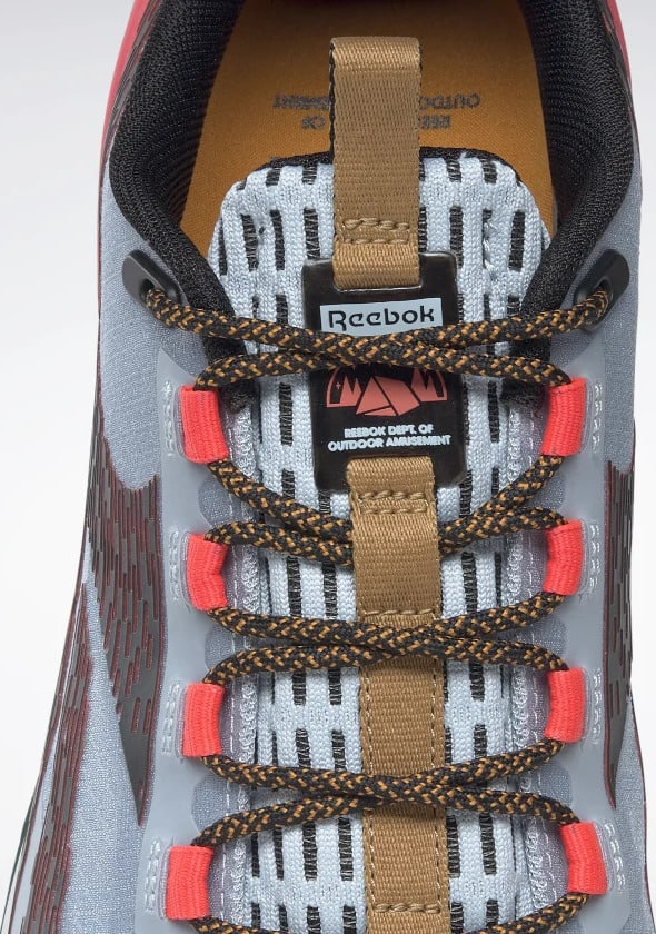Reebok Nanox1 Adventure Mens Shoes Gable Grey Core Black Cherry tongue