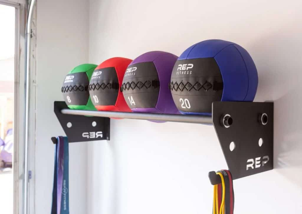 Rep Ball Storage with balls