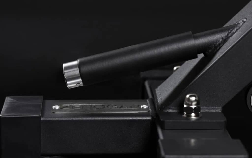 Rep Fitness AB-5000 Zero Gap Adjustable Bench Matte Black handle
