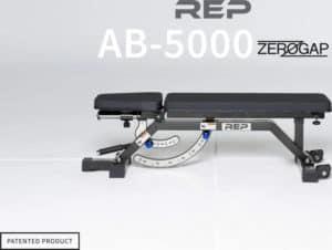 Rep Fitness AB-5000 Zero Gap Adjustable Bench Matte Black main