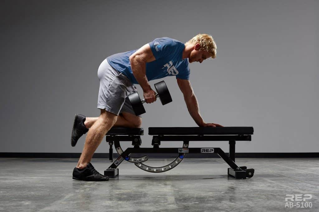 Simple, stable and strong as an ox, the AB-5100 version is perfect for commercial gyms that just need a heavy duty adjustable bench, or someone who wants the best for their garage gym. Commercial grade features include an 11 gauge steel frame, high end metallic and hammertone color paint finishes, rock solid stability, thick vinyl and padding, laser cut numbers, and more. A full FID bench with the optional decline attachment, the solid steel pin locks into place at multiple angles for any bench workout - incline, decline, or flat. With other inferior benches at over twice the price - make the smart choice and go REP.