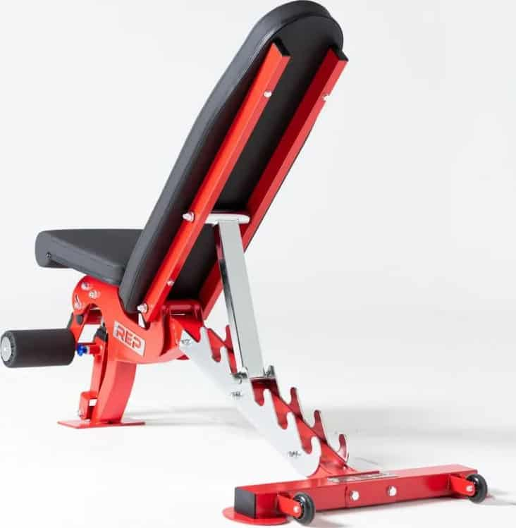 Rep Fitness AB3000 FID Adjustable Bench back view