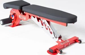 Rep Fitness AB3000 FID Adjustable Bench quarter view