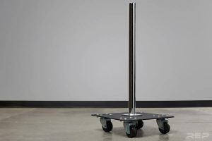 Rep Fitness Bumper Stacker With Wheels bottom part