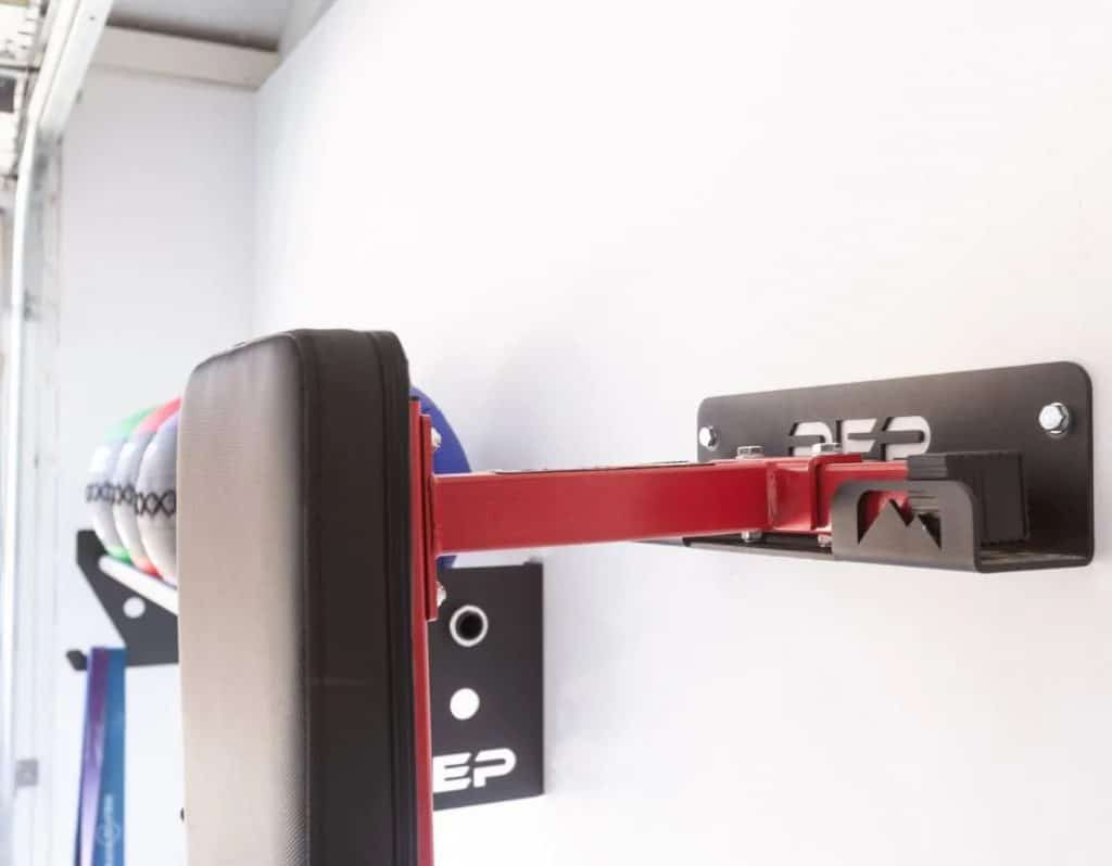 Rep Fitness FB 3000 Flat Bench mounted