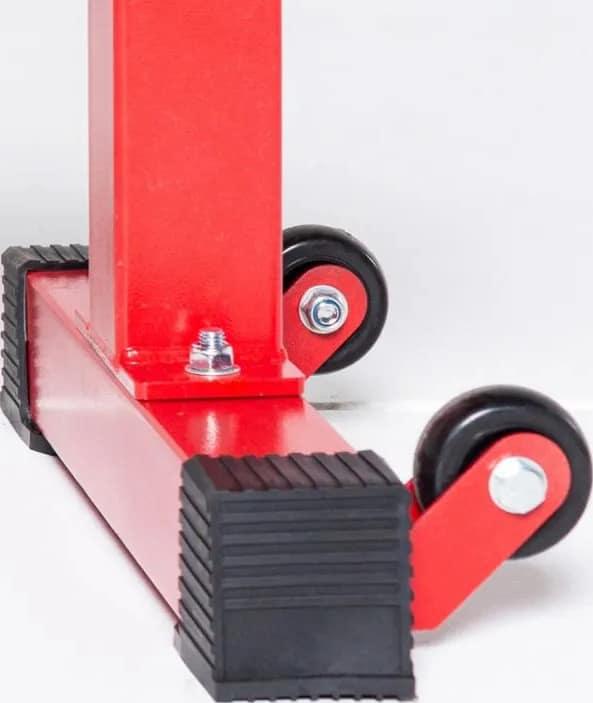 Rep Fitness FB-4000 Comp Lite Bench wheels