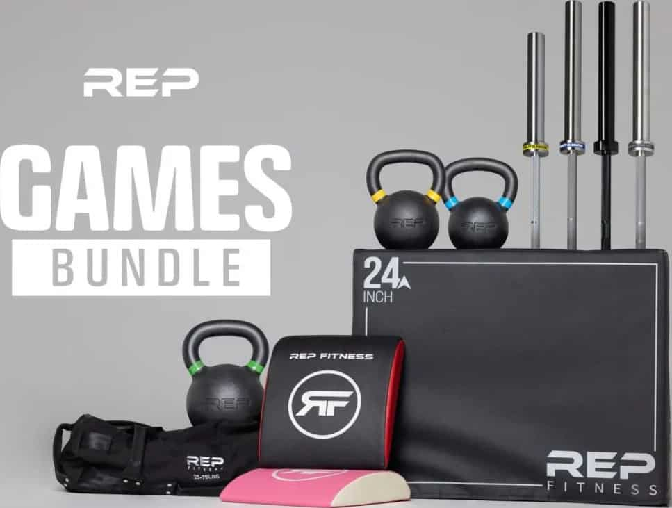Rep Fitness Games Home Gym Package main