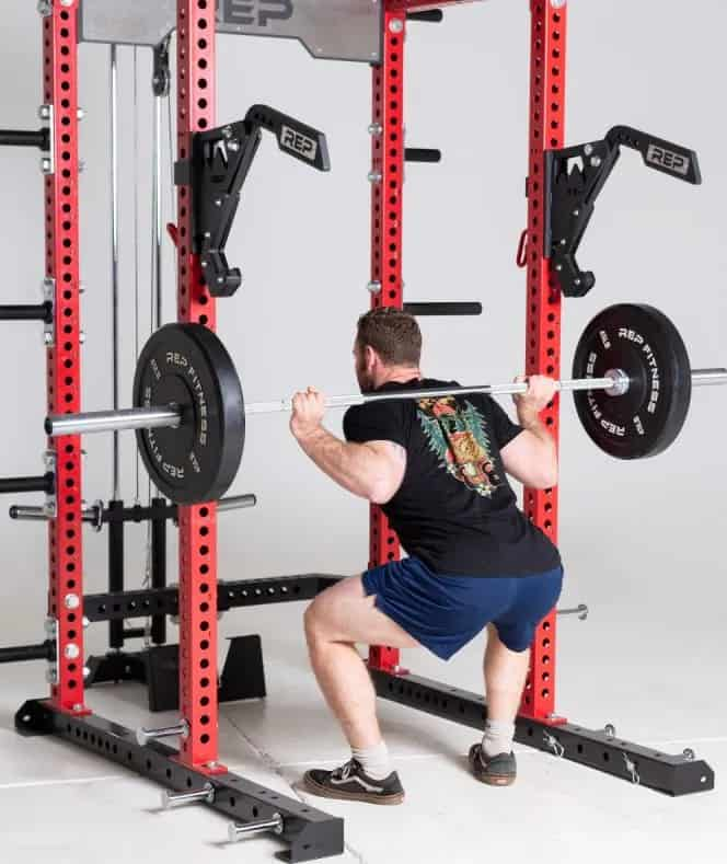 Rep Fitness Monolift Attachment squat back left-crop