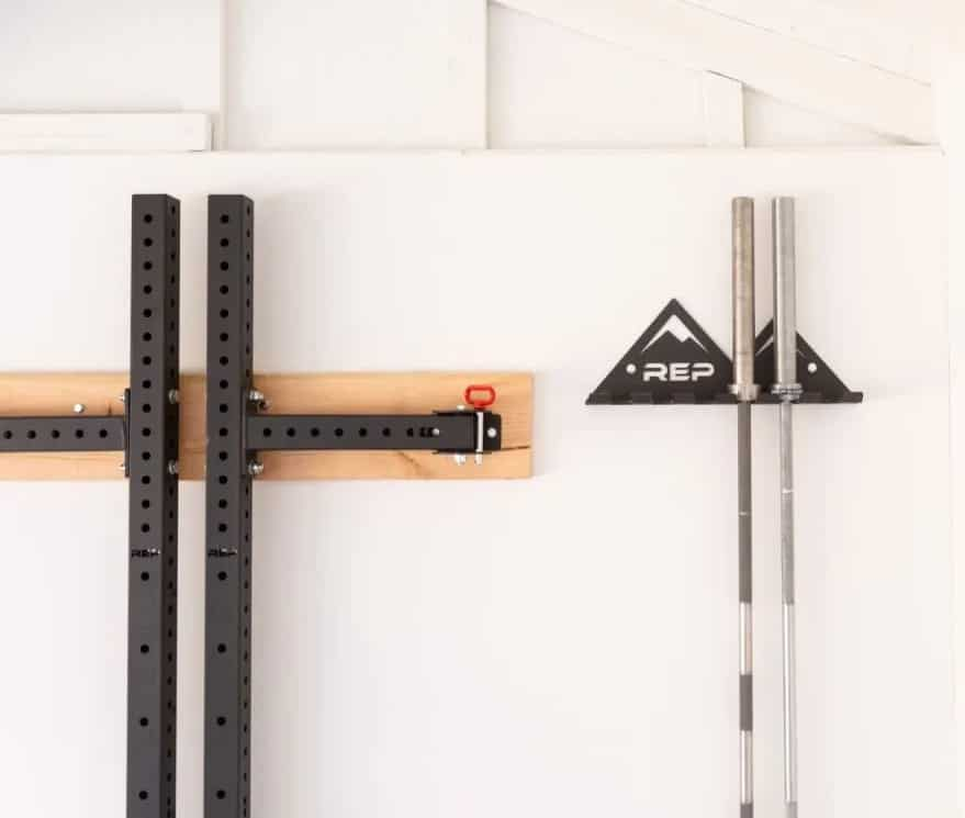 Rep Fitness Multi-Use Wall Storage mounted