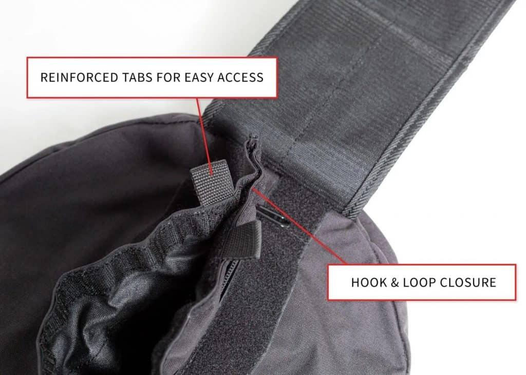 Rep Fitness Rep Stone Sandbag hook and loop clousure