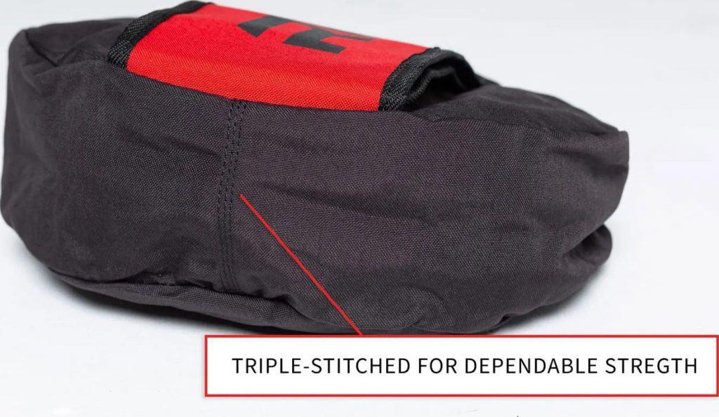 Rep Fitness Rep Stone Sandbag triple stitch