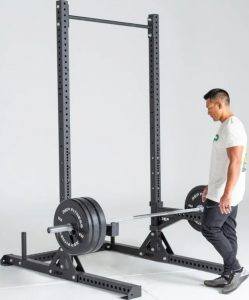 Rep Fitness SR-4000 Squat Rack whole view side-crop