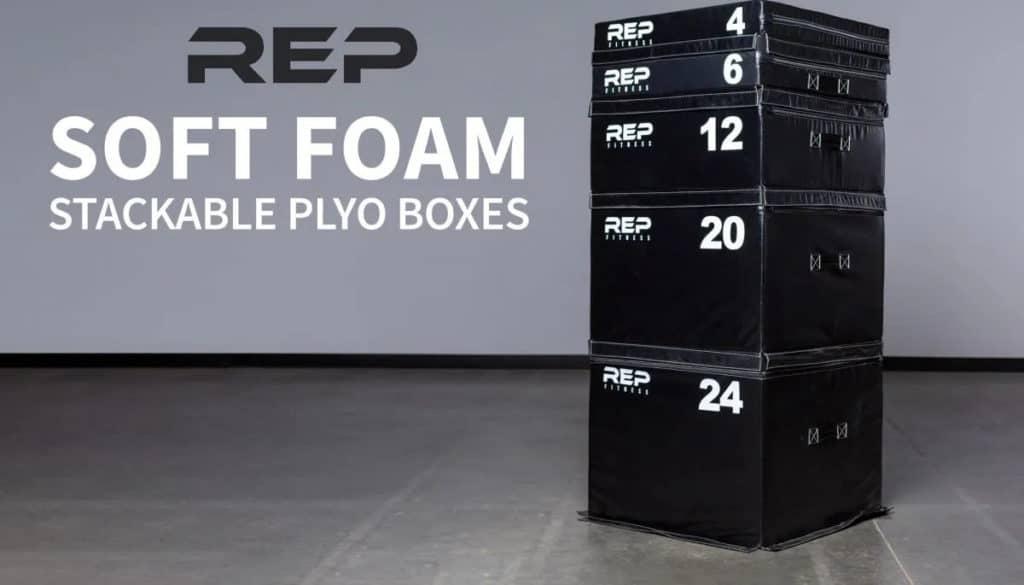 Rep Fitness Soft Foam Plyo Box main photo