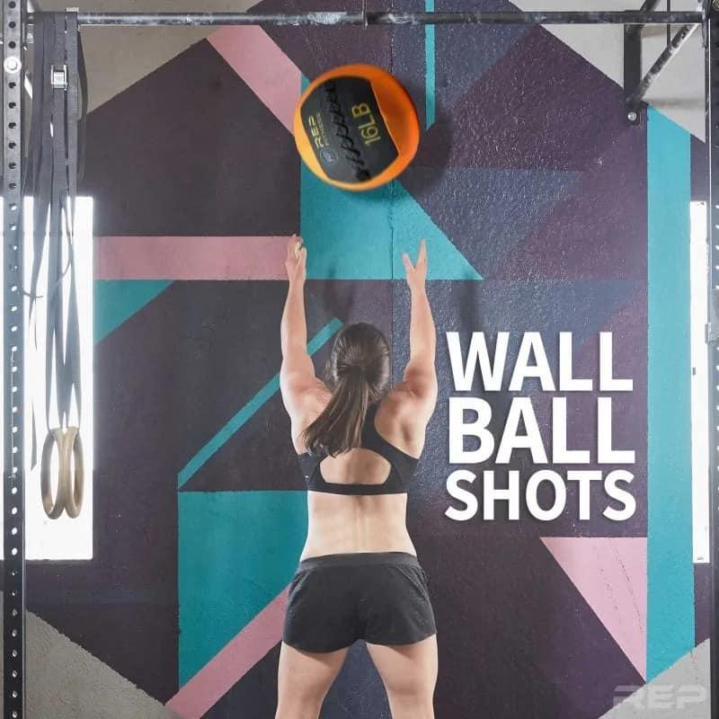 Rep Fitness V2 Medicine Balls wall ball