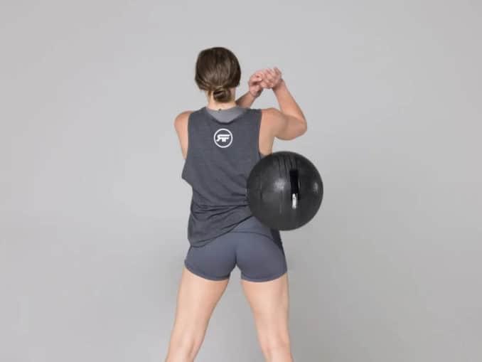 Rep Fitness V2 Slam Balls back ball