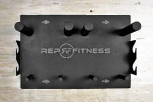 Rep Wall Mounted Gym Storage Rack top view