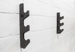 Rogue 3 Bar Gun Rack on the wall