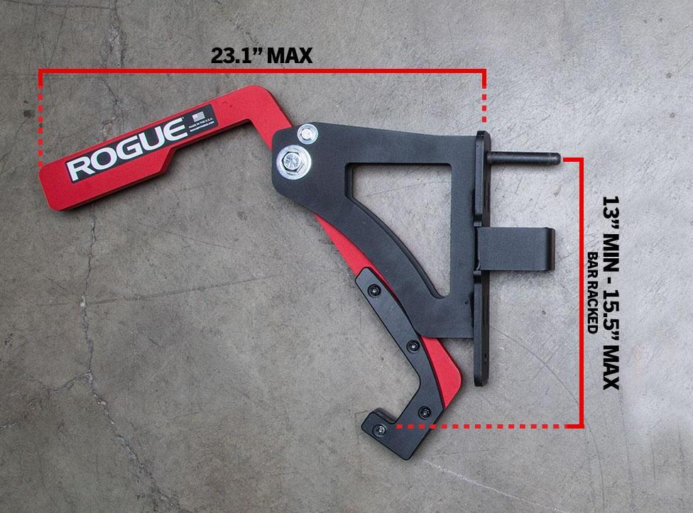 Rogue Adjustable Monolift - Monster Lite dimension-crop