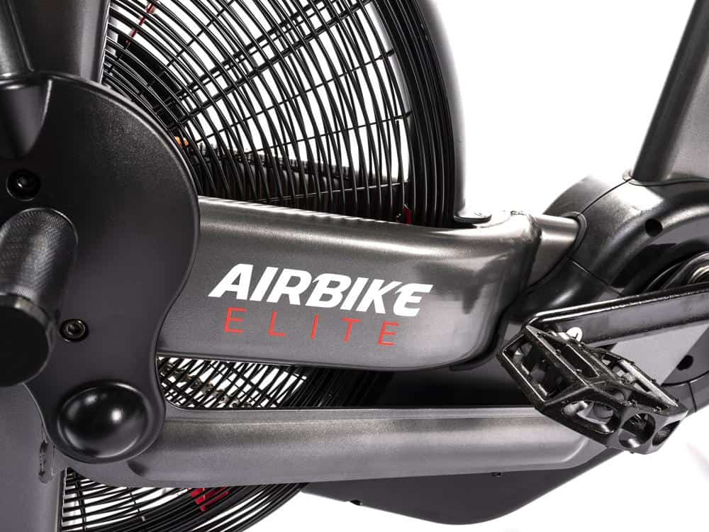 Rogue Assault Airbike Elite pedal and wheel