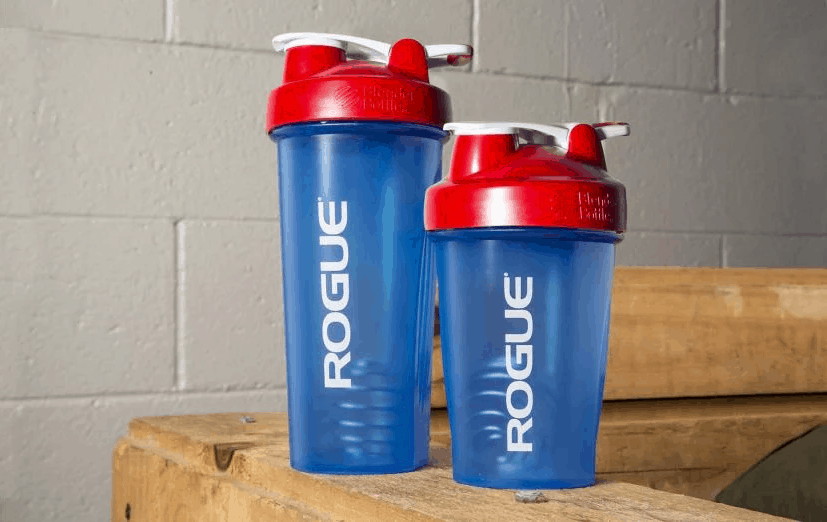 Rogue Blender Bottle Blue and Red