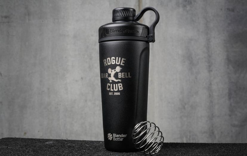 Rogue Blender Bottle Radian Insulated Stainless Steel Black