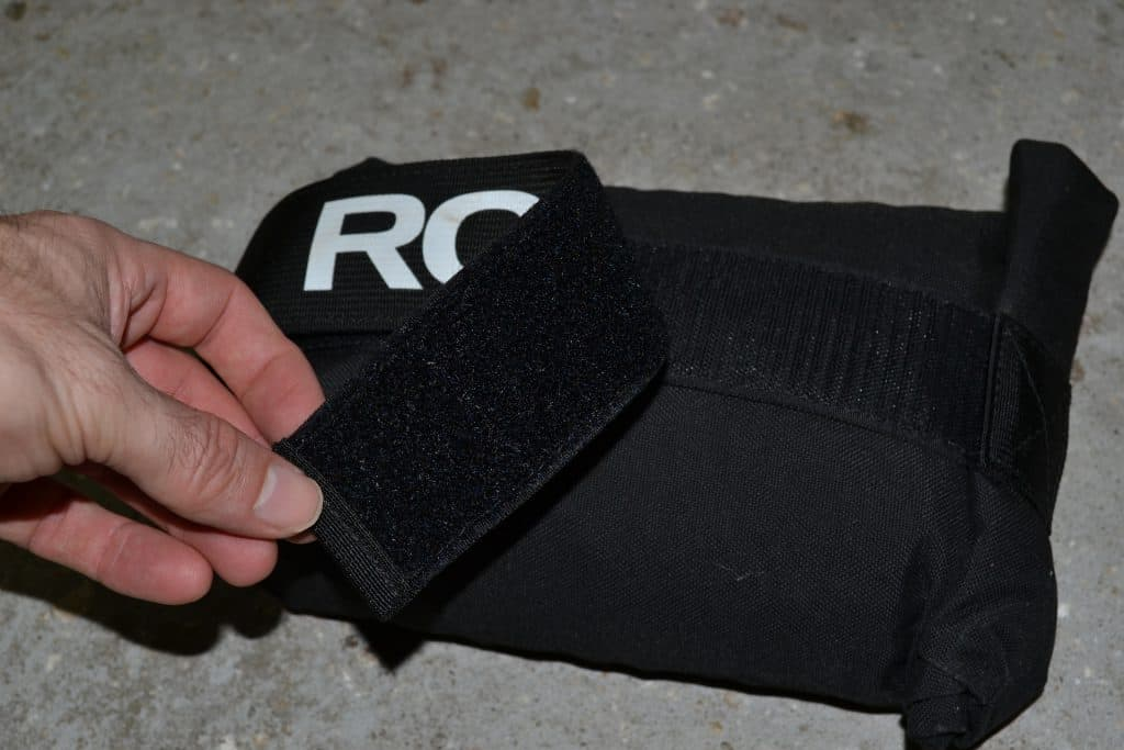 Rogue Brick Bag 10lb Review (7) Velcro