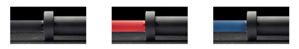Rogue Cerakote Olympic Barbell with Black Sleeves - color options