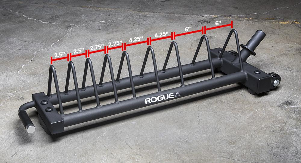 Rogue Competition Bumper Plate Cart dimension