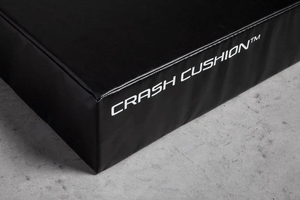 Rogue Crash Cushion half view close up