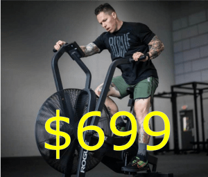 Rogue Echo Bike on sale for $699 with free shipping. Best air bike for CrossFit? Yes!