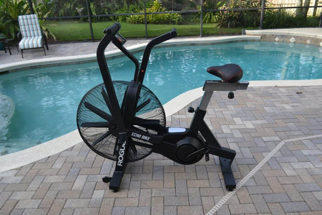 Rogue Echo Bike - poolside