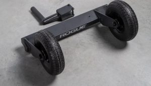 Rogue Echo Bike Turf Tire and Handle Kit full view
