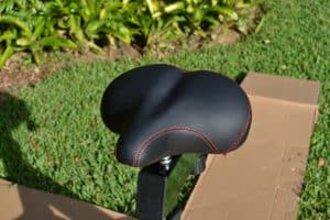 Rogue Echo Bike Seat - Very comfortable - no upgrades needed.