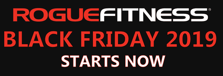 Rogue Fitness Black Friday is now Matte Black November