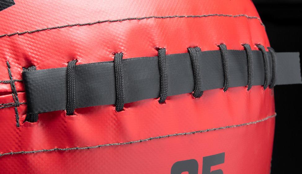 Rogue Fitness Color Medicine Balls red closeup