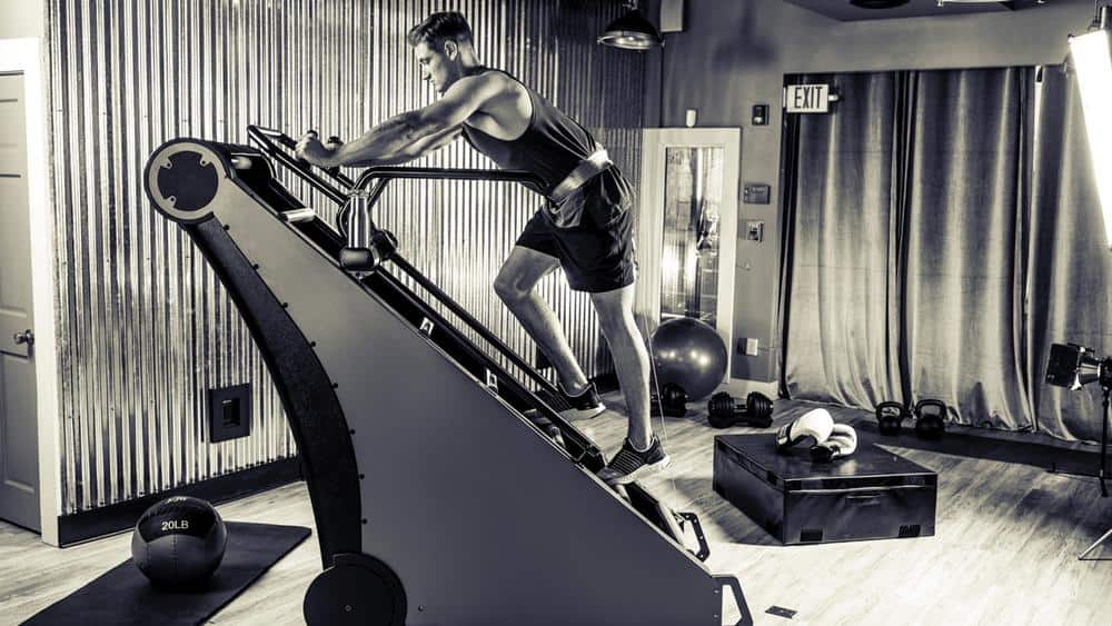 Rogue Fitness Jacobs Ladder X at home