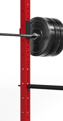 Westside Hole spacing - as shown on a Rogue Fitness Power Rack - What is a Westside power rack? It's one with Westside Hole Spacing, and that means holes every 1″ through the bench and clean pull zone, and 2″ spacing above and below. This gives you the granularity you need, where you need it.