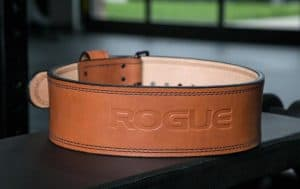 Rogue Fitness Premium Ohio Lifting Belt - made from leather