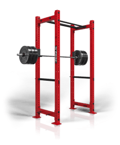"The RML-390C is the colored version of Rogue RML-390BT Power Rack. Like the standard model, this unit is manufactured in Columbus, Ohio, and updates a classic Westside power cage design with 3x3"" 11 Gauge Steel in your choice of 10 custom Rogue semi gloss powdercoats. With an interior depth of 24"" or 30"", the RML-390C is an all-in-one power rack that can improve the efficiency of a small garage gym or major weight training center. With 0.625"" hardware and Westside hole spacing, it also provides an appealing middle ground between the Rogue Monster and Rogue Infinity Series power racks. Easy to set-up and install out the box, this rack comes standard with a pair of Monster Lite J-cups, a pin/pipe safety set, four band pegs, and a 43"" Fat/Skinny Pull-Up Bar."