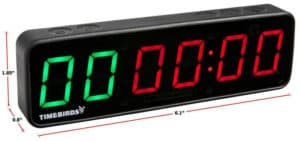 Rogue Fitness Timebirds Timer dimension