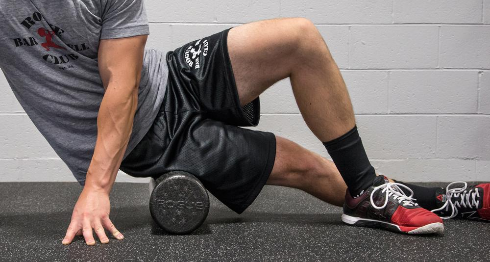 Rogue Foam Rollers being used