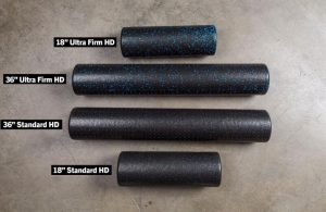 Rogue Foam Rollers different sizes