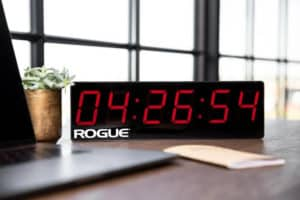 Rogue Home Timer on the table