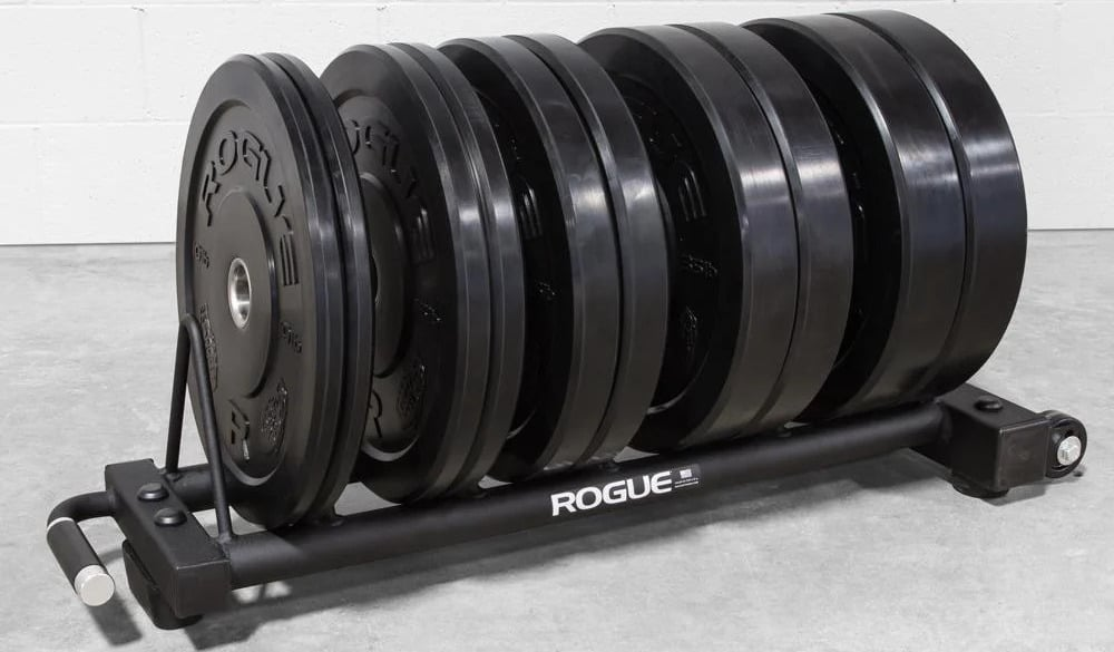 Rogue Horizontal Plate Rack 2.0 close up black