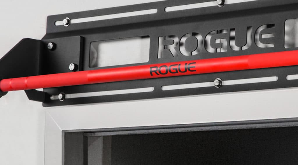 Rogue Jammer Pull-Up Bar red cerakote knurled